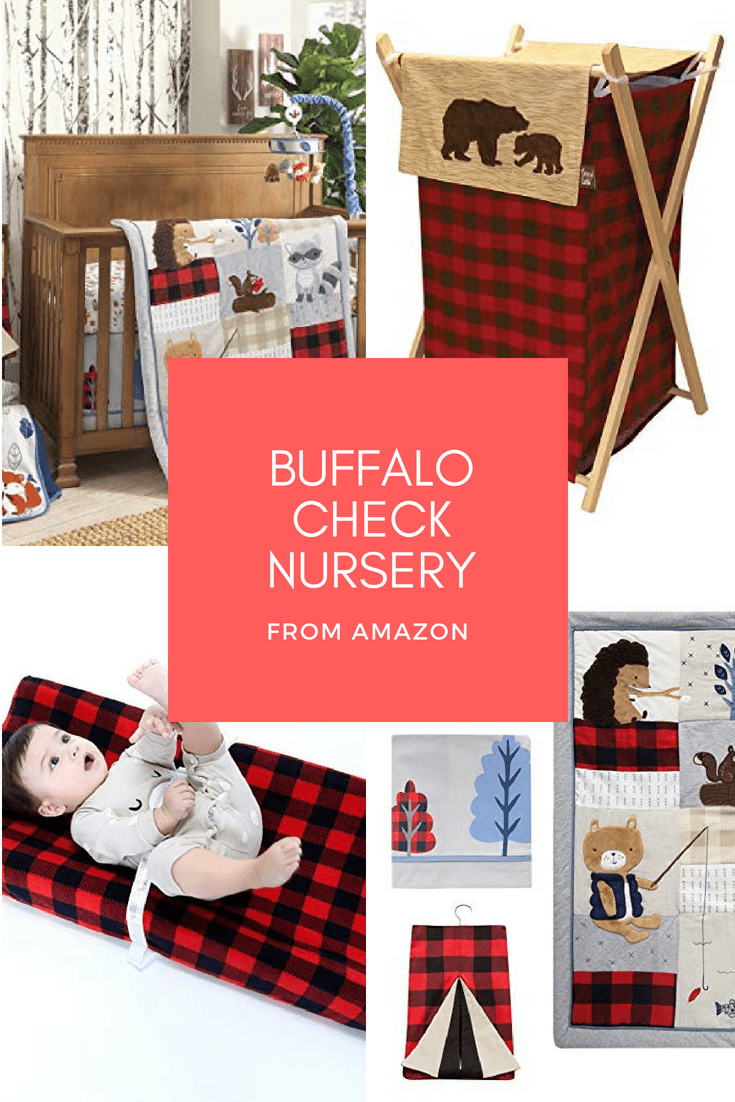 buffalo check nursery amazon cabin blog