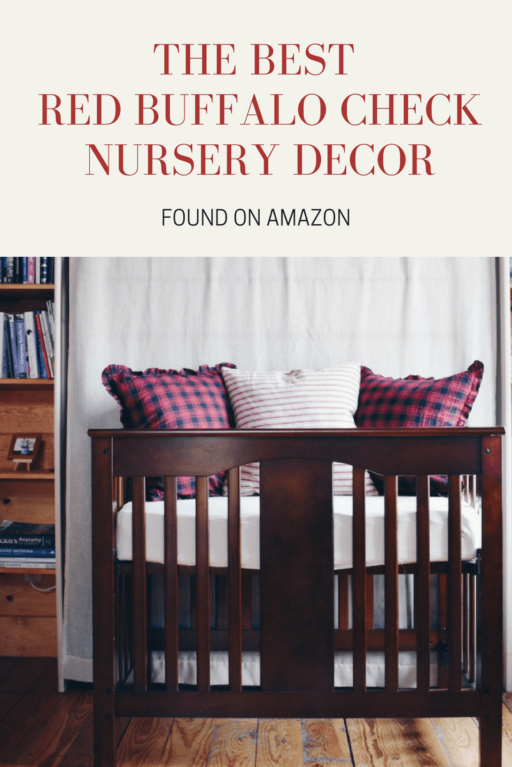buffalo check nursery decor amazon cabin blog