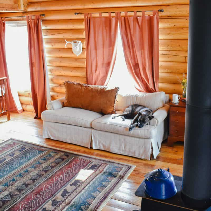7 Quirks of Living in a Log Cabin