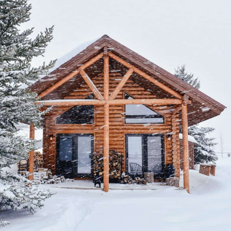 What We Didn't Expect: Cabin Life in Winter
