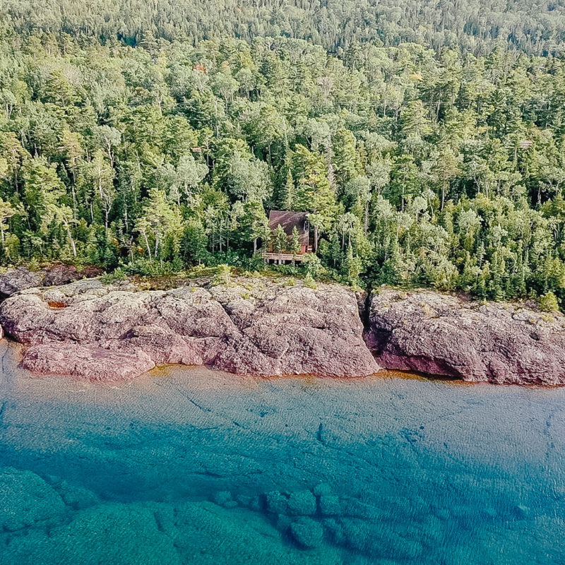 True North: Giving an Old Cabin New Life on Lake Superior