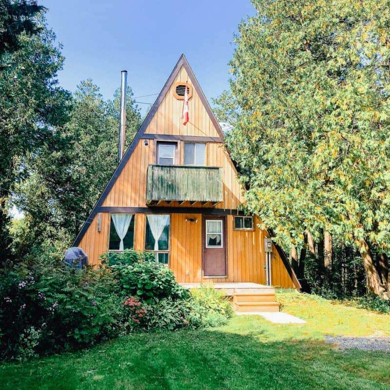Riverbend Cabin: How One Couple Found Their Magical A-Frame Weekend Getaway