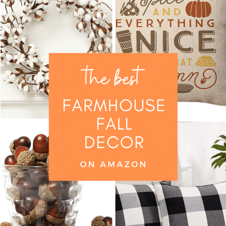 Farmhouse Fall Decor on Amazon