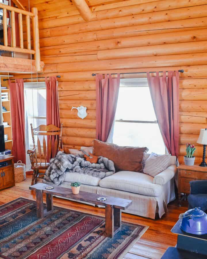 shop log cabin decor