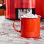 slow cooker hot chocolate for a crowd