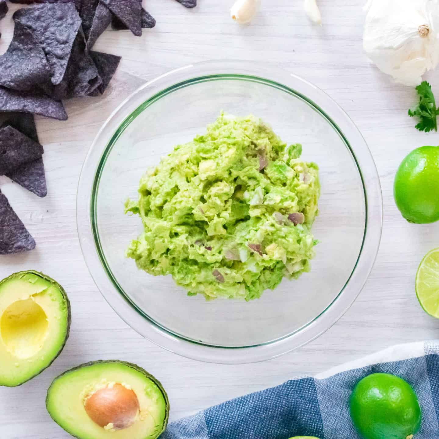 Homemade Guacamole Recipe & Step by Step Instructions