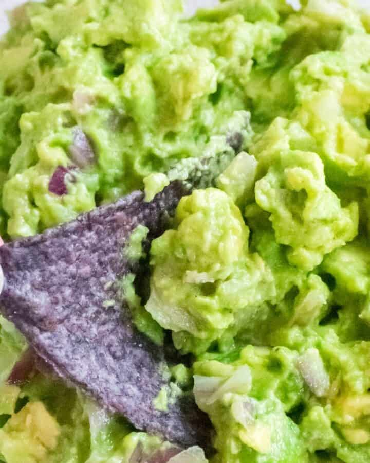 best guacamole with tortilla chip