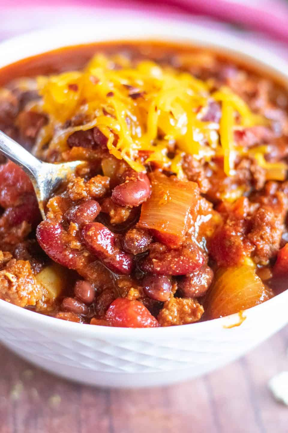 best ground beef chili