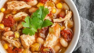 Easy Slow Cooker Chicken Chili